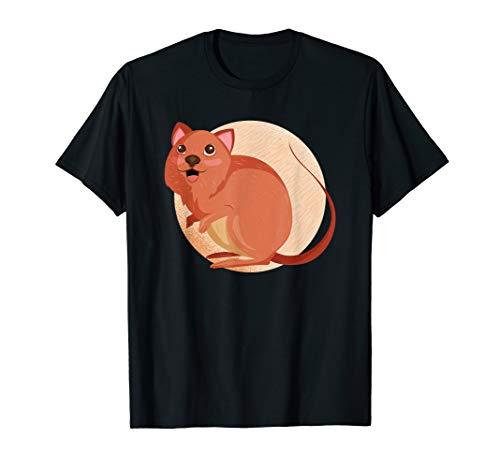 Quokka Australien Wombat Känguru Koala Liebhaber Geschenk T-Shirt