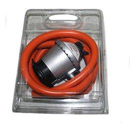 com-gas-000415-kit-blister-15-mt-tubo-flessibile-e-riduttore-di-pressione-30-gr
