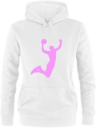 EZYshirt Basketball | Slam Dunk Damen Hoodie
