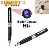 FREDI HD PLUS HD Quality Video/Audio Hidden Recording, Hd Sound Clarity Pen Camera