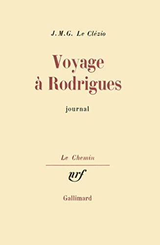 Voyage Rodrigues [Pdf/ePub] eBook