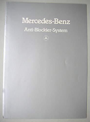 Prospekt Mercedes-Benz Anti-Blockier-System ABS - von gebraucht kaufen  Wird an jeden Ort in Deutschland