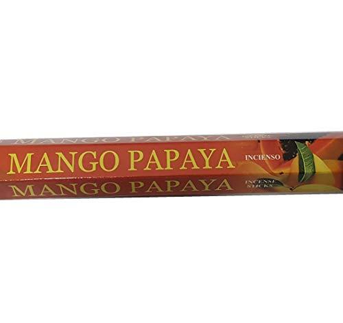 Mango-papaya-duft (Pamai Pai® Räucherstäbchen Mango Papaya Duft 20 Stück - Grundpreis: 0,07€/Einheit - Räucherwerk)