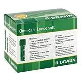 B. Braun Omnican Lance soft Einmal Lanzetten 200 Stück (28G)