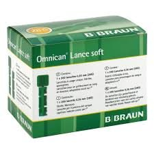 B. Braun Omnican Lance soft Einmal Lanzetten 200 Stück (28G) (Einweg-lanzetten)