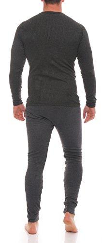 Good Deal Market - Pantaloni termici -  uomo 1 Set anthrazit