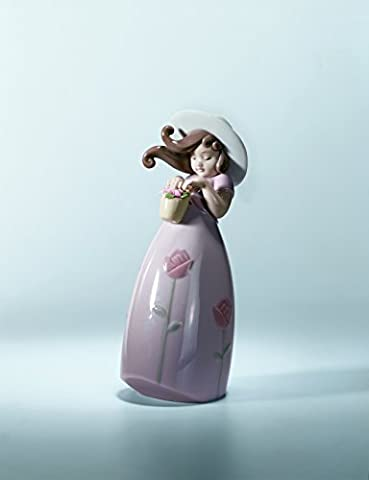 Lladr? Little Rose Figurine by