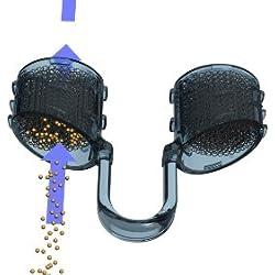 Doppelpackung Best Breathe ANTIPOLLEN-Filtersystem für die Nase, NFE05027, enthält 2 Filterträger Größe S (klein: vorwiegend für Jugendliche und Frauen), mit 30 Nasenfilter-Einsätzen ZUM FILTERN VON POLLEN und Staubpartikel. Filtert Pollen, Hautschuppen, Staub, Schimmelsporen, Keime und andere Allergene!