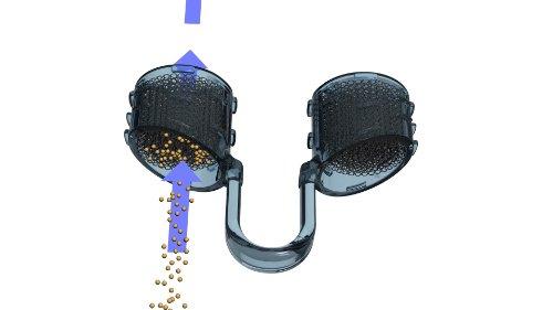 Best Breathe ANTIPOLLEN-Filtersystem für die Nase, NFE05025, Senior-Pack - Dreierpackung mit jeweils einem Filterträger der Größen M, XL und XXL zur Ermittlung der richtigen Größe bei Männern unterschiedlichen Alters, mit 30 Nasenfilter-Einsätze, zum FILTERN von POLLEN und Staubpartikeln zwischen 20 und 60 µm. Filtert Pollen, Hautschuppen, Staub, Schimmelsporen, Keime und andere Allergene! Schüzen Sie sich vor Umweltverschmutzung! Luft-filter Allergen