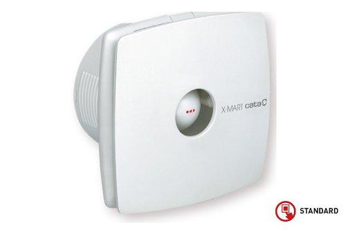 Cata M1769Abluftventilator X-Mart 10, weißer - Badezimmer-ventilator-lichtschalter