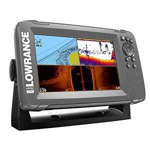 Lowrance HOOK2 Fischfinder mit TripleShot Transducer und US/Kanada Navionics + Karte, Unisex-Erwachsene, HOOK2, Triple Shot, 7 Inch Lowrance-karten