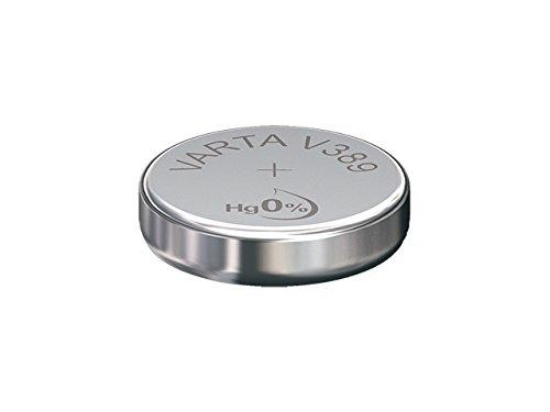 Varta V389 High Drain Silber1,55V 85mAh Uhrenzelle, 1 Stück