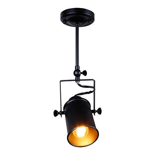 Hobaca® E27 Loft Industrie Eisen Scheinwerfer jagd Deckenleuchte Wandleuchte Lampe für Halle Zimmer pendelleuchten kronleuchter beleuchtung Innenbeleuchtung TS01