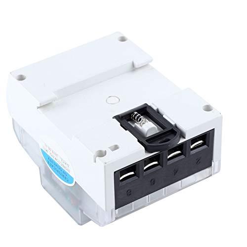 BALLSHOP Wechselstromzähler digitaler Stromzähler Drehstromzähler DIN Hutschiene LCD XTM024 5 (80) 3 x 230/400V