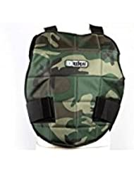 Plastron de Protection DUKE Reversible camo-noir M