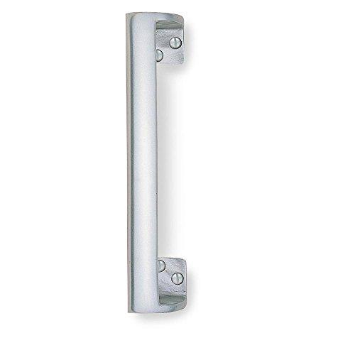 Charming Bulk Hardware BH03936 Oval Grip Pull Handle, 230mm 9.2 Inch   Bright  Aluminium