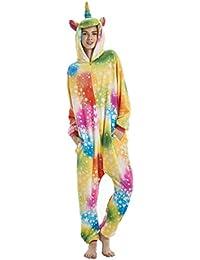 heekpek Pyjama Animaux Cosplay Halloween Déguisement Adulte Femme Homme  Unisexe Flannels 27ec3930894