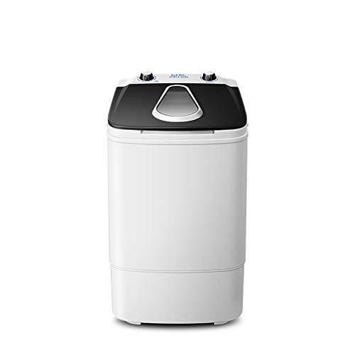 Mini Lavatrice Piccola Rondella per Bambini Portatile per Uso Domestico con Vasca Singola con Cestello per Centrifuga 3.8KG / 8.4 Lbs capacità di Lavaggio Blu-Ray Ultravioletto Batteriostatico