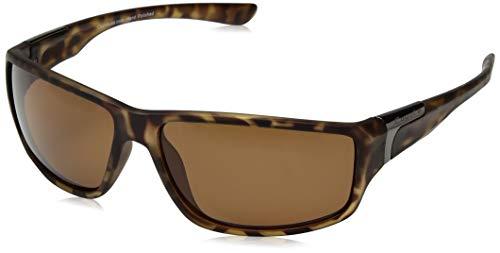 Coyote Eyewear p-37Sportsman 's Polarisierte Sonnenbrille, Herren, Matte Tortoise Frame