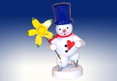 Montagne leggere di öre del candeliere 9cm del supporto di candela del biglietto di S. Valentino del pupazzo di neve del supporto del tè NUOVE