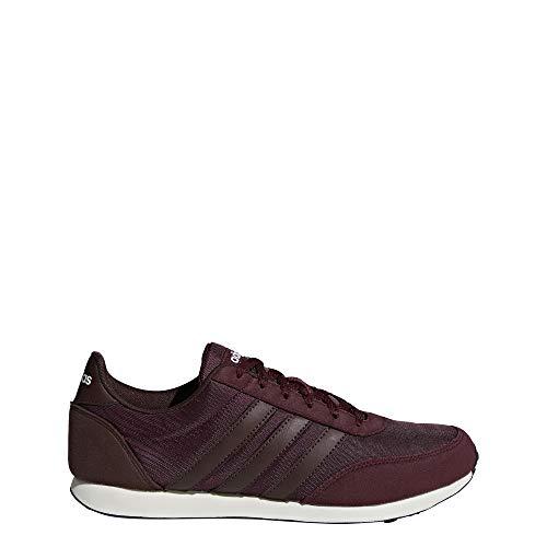 Adidas V Racer 2.0, Zapatillas de Deporte para Hombre, Rojo (Granat Rojnoc 000), 43 1/3 EU