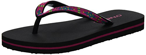 O'Neill Fg Moya Strap Flip Flops, Tongs fille Schwarz (Black Out)