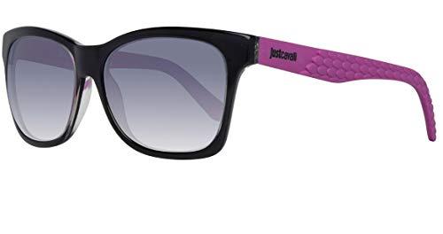 Just Cavalli Damen Sunglasses Jc649S 01U 56 Sonnenbrille, Schwarz,