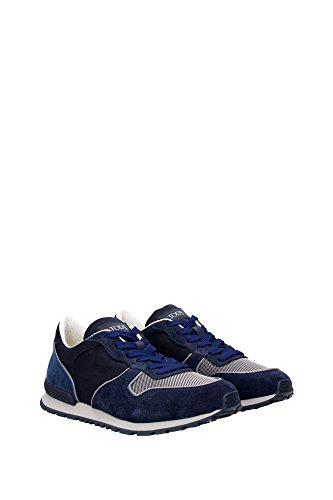 XXM0YM0L810CGW54FR Tod's Sneakers Homme Chamois Bleu Bleu