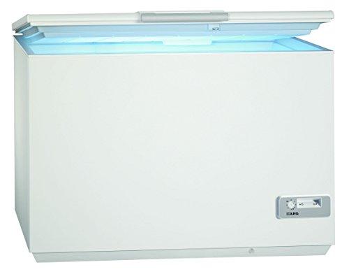 AEG ARCTIS A92300HLW0 Gefriertruhe  A  87,60 cm Höhe  122 kWh Jahr  223 L Gefrierteil  Innenbeleuchtung  LowFrost-Technik  weiß
