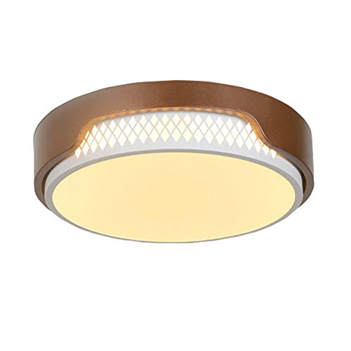ZNHL LED luz de Disco Empotrado Montaje Techo luminaria Redonda LED luz...