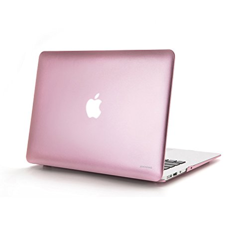 jokhang MacBook Case Shell Hard Case Cover [2 in 1] mit Keyboard Cover *Rose Gold MacBook Pro 13.3