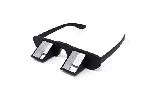 Premium Sicherungsbrille mit Hardcase Etui auch für Brillenträger (optische und Sonnenbrillen) geeignet, keine Genickschmerzen mehr, zum Klettern, Kletterbrille etwa ab dem 12 Lebensjahr