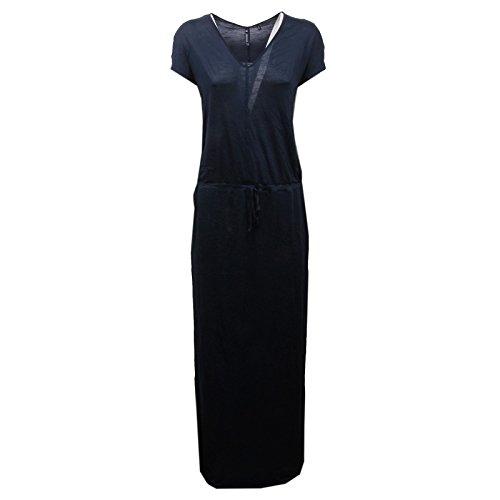 D1290 vestito donna WOOLRICH blue abito dress woman Blu
