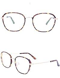 0f68bd90c4 Uzanesx Marco de Gafas Gafas con Lentes Transparentes Unisex Sin Receta Gafas  Gafas Gafas de Moda