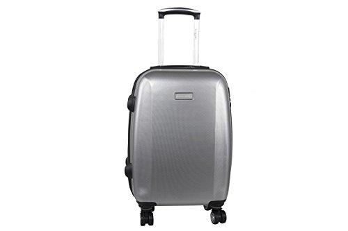 Maleta rígida PIERRE CARDIN gris mini equipaje de mano ryanair S297