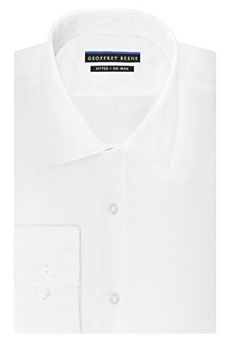 Greucy-dark Men's Fitted Sateen Shirt