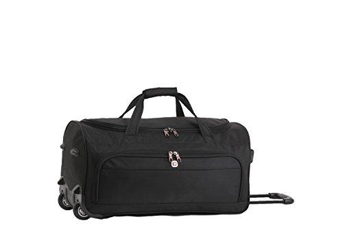 Enrico Benetti Adelaide kleine Reisetasche auf Rollen 46 Liter schwarz