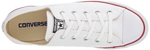 Converse CT Dainty Ox C537204 Damen Sneaker, Weiß (Blanc/Rouge), 39 EU - 7
