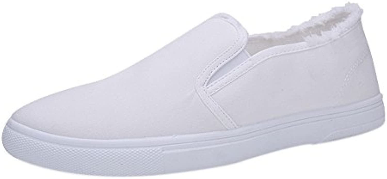 Man's/Woman's Riou Men's Single Shoes Shoes Shoes College Style Canvas White Shoes Student Shoes Elegant appearance Price reduction fine WH44401 6eea3d