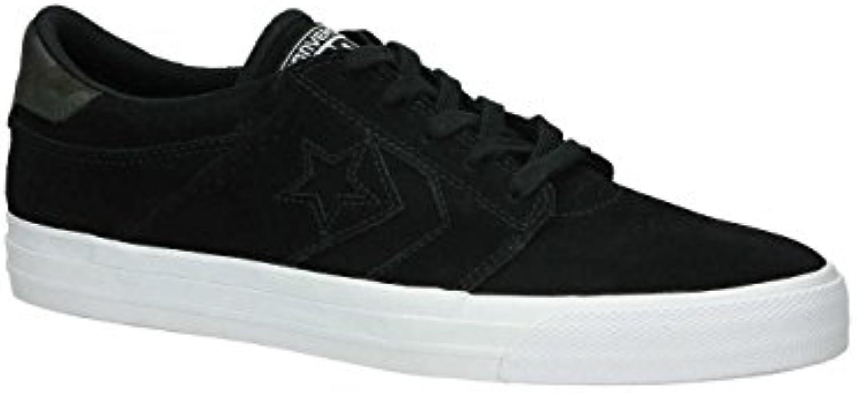 Converse Herren Sneaker CONS TRE STAR SUEDE OX   Black/Black/White