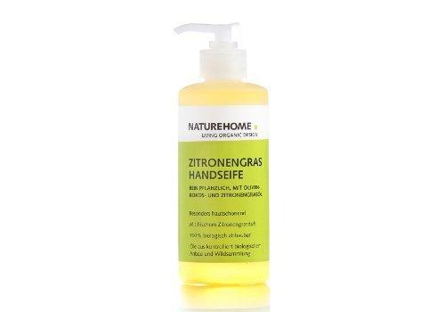 Bio Handseife Zitronengras 300 ml (Reinigen Schuhe Hanf)