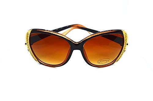 Otfi Fashion Aviator Sportbrille Unter Fünf Euro Unisex Damen Herren Polarisierte Fahren Sonnenbrille Metall Rahme Ultra Leicht 100% UV400 Schutz Retro Stylish Sunglasses Sonnenbrillen