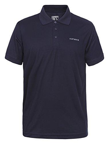 Icepeak Herren Kyan Pique Polo Shirt Dunkel Blau