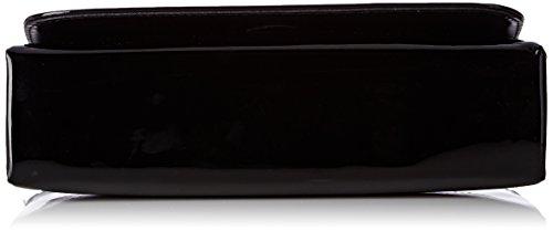 Unisa Zdream_17_pa, Clutch Donna, 6x10x22 cm (B x H x T) Nero (Black)