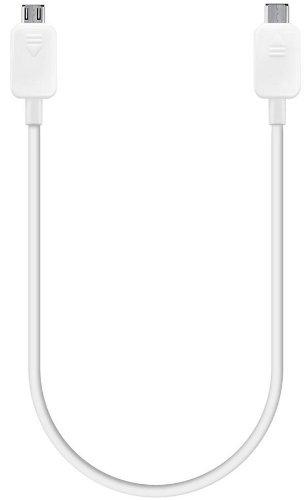 Samsung EP-SG900UWEGWW - Cable de alimentación compartida para Samsung Galaxy S5, blanco