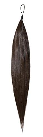 American Dream le Rajout Capillaire Cheveux Humains Couleur 2 Brun Foncé 18