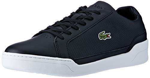 Wht Blk Herren Sneakers (Lacoste Herren Challenge 119 2 SMA Sneaker, Schwarz (Blk/Wht 312), 40 EU)