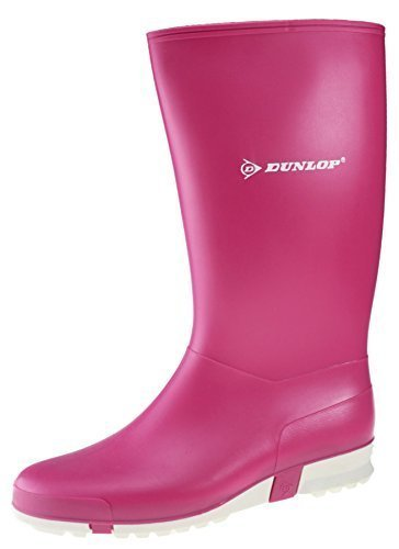 Dunlop Sport pink , Damengummistiefel in pink, 38