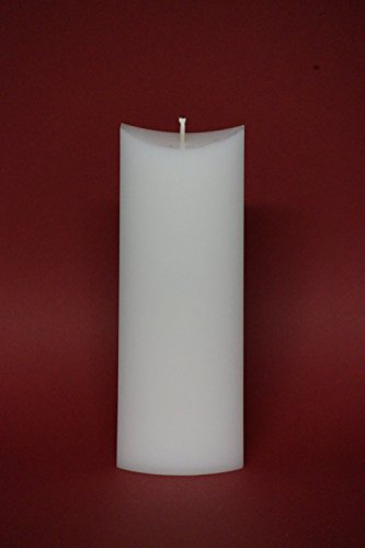 """Preisvergleich Produktbild Kerzenrohling ; Formkerze """"Satteloval"""" ; für Taufkerzen und Hochzeitskerzen ; L-16"""