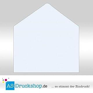 Briefumschlag/Kuvert - Hellblau - mit Seidenfutter/DIN C5 / 10 Stück